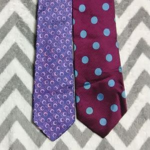 Holland & Sherry 2 Tie Lot